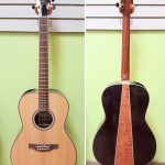 Takamine Parlor Size New York Style Acoustic Electric Guitar GY93CE-NAT, solid top, for sale in Vancouver Canada at Basone
