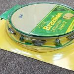 "Pearl Brazilian 12"" Pandeiro with bag, model PBP-612, for sale in Vancouver Canada at Basone"