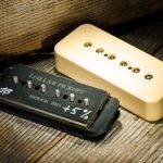 Lollar P-90 Soapbar Overwound Creme pickup for sale in Vancouver Canada at Basone