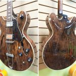 Vintage 1972 Gibson ES-150D semi hollow electric guitar, for sale in Vancouver Canada at Basone