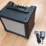 10w Mini Electric Guitar Amp, battery powered, for sale in Vancouver Canada at Basone