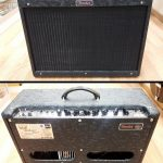 FENDER BLUES DELUXE REISSUE 1x12 40w TUBE AMP, LIMITED EDITION BLACK COWBOY TOLEX.  INCLUDES AMP COVER.  for sale in Vancouver Canada at Basone.