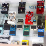 One of our pedals display - Digitech, Boss, Korg, DOD and more.