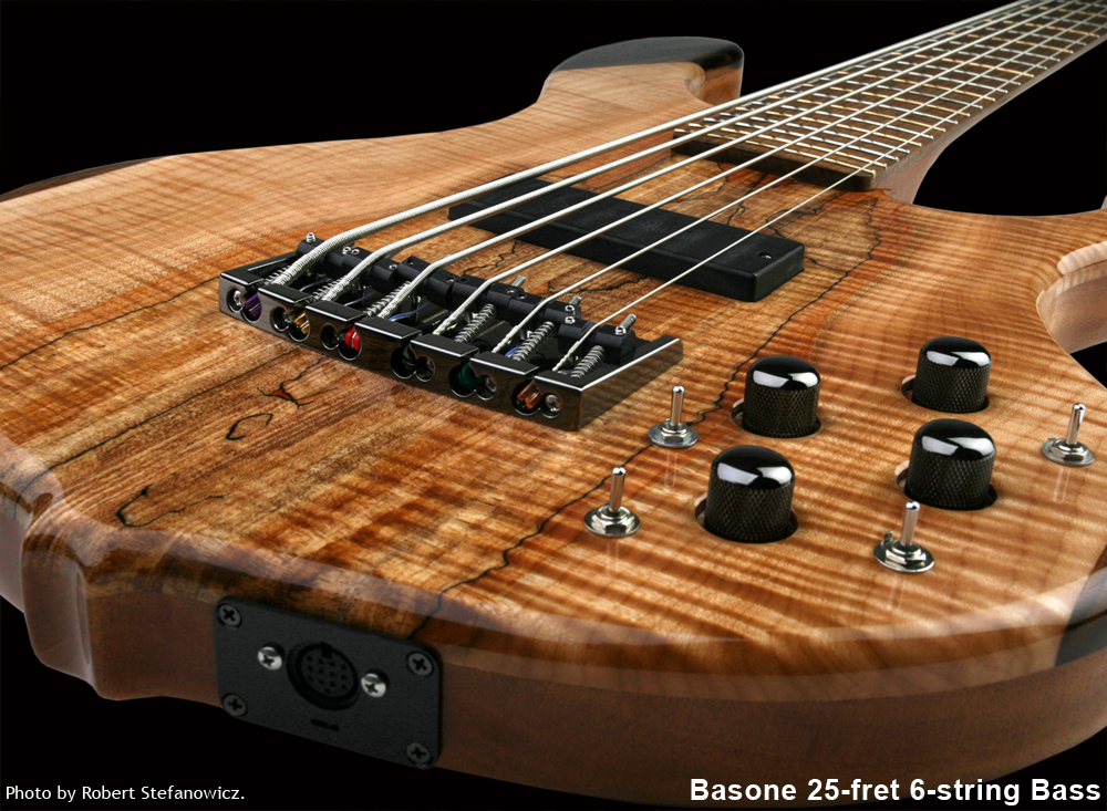 custom bass guitars basone guitars and repair shop. Black Bedroom Furniture Sets. Home Design Ideas