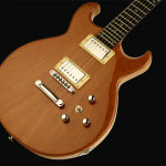 Flat top custom guitar, Angida top with Swamp Ash body, Natural finish. Clone model