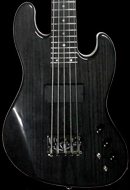 Custom 5-string Bass Guitar, 24-fret, Trans Coal finish