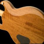Phoenix handcrafted guitar back of body detail shot. Robert Stefanowicz