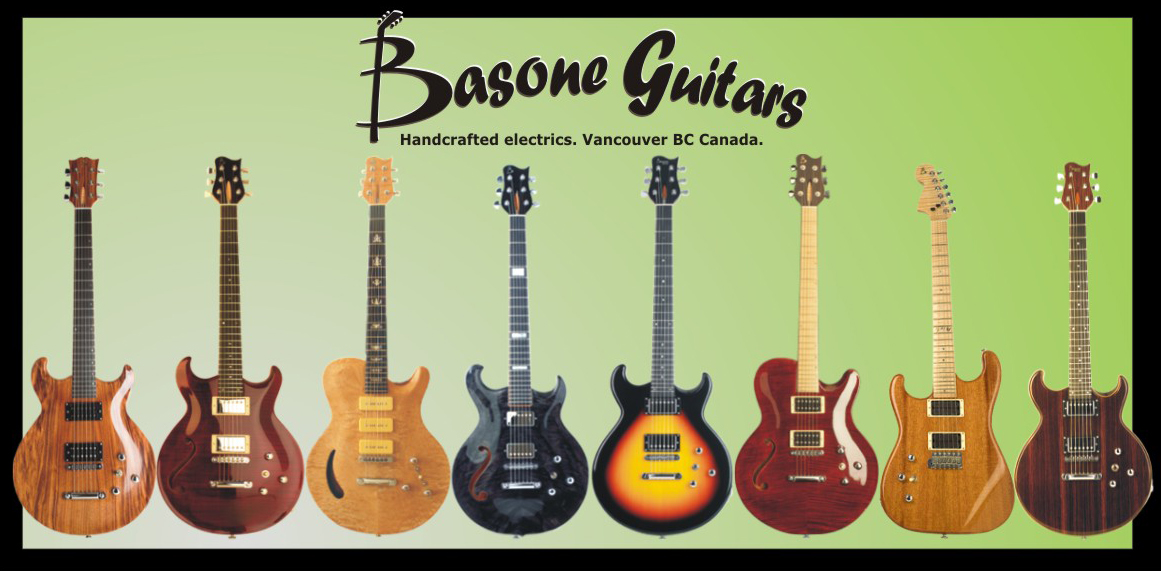 Handcrafted Guitars, Vancouver BC Canada