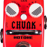 Hotone Chunk distortion mini pedal on sale in Vancouver Canada at Basone