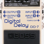 Boss Digital Delay DD-7 pedal on sale in Vancouver Canada at Basone
