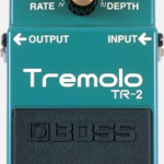 Boss Tremolo TR-2 pedal on sale in Vancouver Canada at Basone