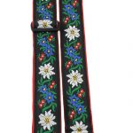 Perris TWS_6730 floral design guitar strap on sale in Vancouver Canada at Basone