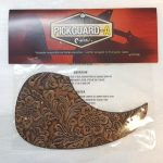 Leather Pickguard for Acoustic Guitar, Beige, On sale in Vancouver Canada at Basone