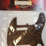 Leather Pickguard for Telecaster tele electric Guitar, Beige, On sale in Vancouver Canada at Basone