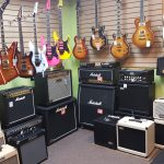 Guitars and Amps for sale at Basone Guitar Shop in Vancouver
