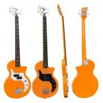 Orange O-Bass Retro Style Electric Bass Guitar on Sale in Vancouver Canada at Basone