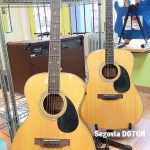 Segovia Folk Size and Dreadnought Acoustic Guitars F07GN D07GN for sale in Vancouver Canada at Basone