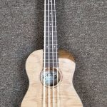 Oscar Schmidt Ukulele Bass Ukulele Bass Acoustic Electric, flame maple body, for sale in Vancouver Canada at Basone