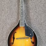 Oscar Schmidt A-Style Mandolin OM10, Tobacco Sunburst gloss finish, for sale in Vancouver Canada at Basone