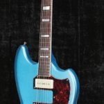 Guild T-Bird Newark St Collection, Dual Franz P90s, Pelham Blue finish for sale in Vancouver Canada at Basone