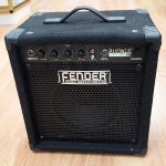 Fender Rumble 15 bass combo amp, lightly used, for sale in Vancouver Canada at Basone