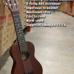 Beaver Creek Guitalele / travel classical guitar for sale in Vancouver Canada at Basone