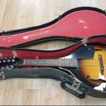 A-style Mandolin by Suzuki, used. includes vintage case. For sale in Vancouver Canada at Basone