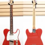 Fender Tele MIM Red finish, like new, for sale in Vancouver Canada at Basone