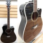 Yamaha FGS432SC-BLK acoustic-electric guitar, used. For sale in Vancouver Canada at Basone.