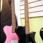 First Act 7/8 size electric guitars, models ME537 and ME500 , used, for sale in Vancouver Canada at Basone