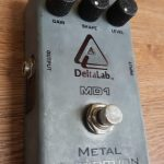 Delta Lab MD1 Metal Distortion , used, missing battery cover.  For sale in Vancouver Canada at Basone