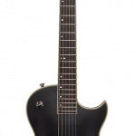 Prestige Heritage Custom Troubadour CS Electric Guitar, Matte black finish, includes deluxe bag. Available in Vancouver and Squamish Canada at Basone