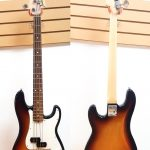 Fender P-Bass Sunburst made in USA Z8253046, on sale in Vancouver and Squamish Canada at Basone