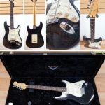 1993 Fender Stratocaster Custom Shop Limited Edition Holoflake Strat, serial CN402374, includes case, Rare! Available in Vancouver and Squamish BC Canada at Basone